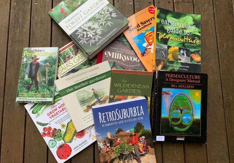 Sandis Permaculture books