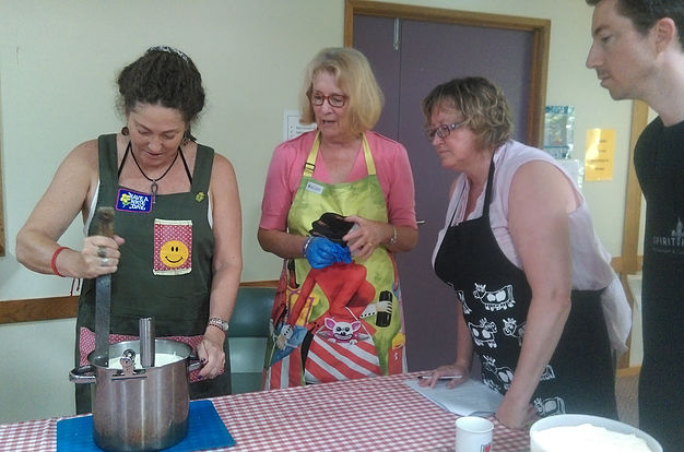 permaculture produce noosa cheesemaking workshop