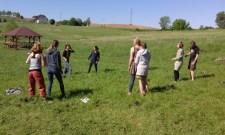 ćwiczenia Animate Earth oraz grupowej integracji