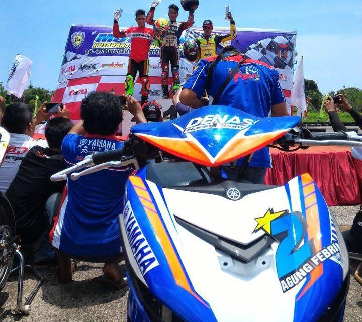 Hasil Race Motorprix MP1, Kejurnas Balap Bebek 150cc Juaranya Yamaha