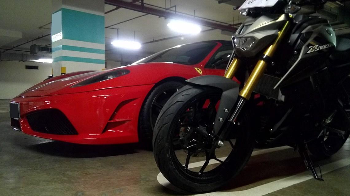 Review Pemakaian Yamaha Xabre di Dalam Kota, Mesin Terasa Enteng…!