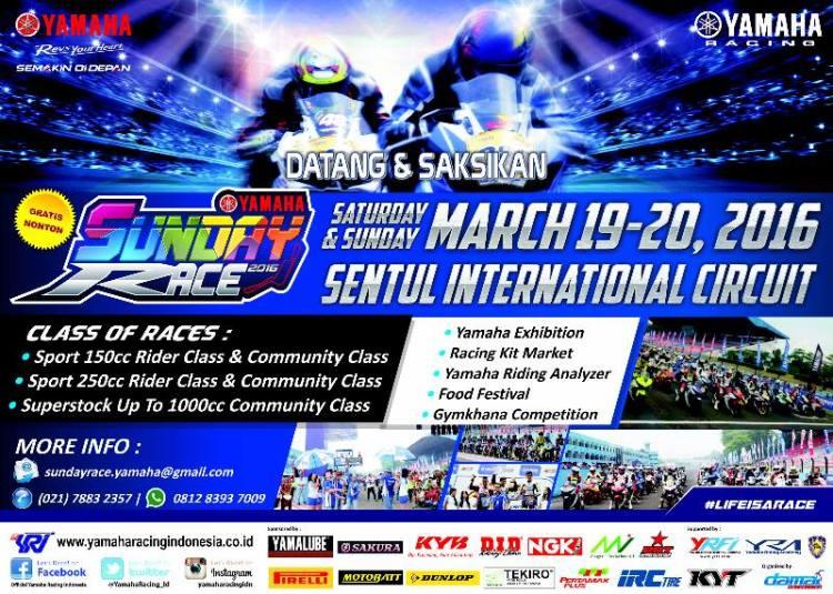 Seri-1-Yamaha-Sunday-Race-2016