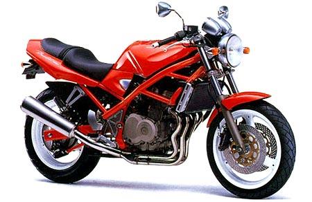 Berburu Suzuki Bandit, Sport Naked 400cc Harga Terjangkau