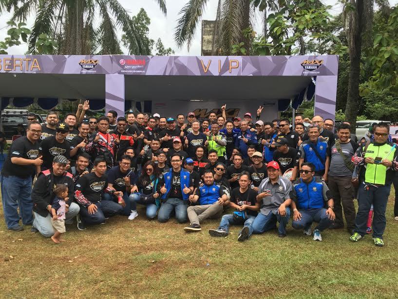 MAXI Yamaha Day: Ribuan Rider Maxi Yamaha Meriahkan Cibubur