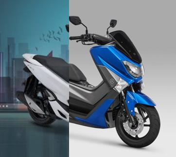 Yamaha NMAX 155 VS Honda PCX 150 eSP PART 1: Duel Mesin 155cc Blue Core + VVA VS Mesin 150cc eSP!