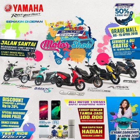 Mau Jajal Motor Blue Core Yamaha? Yuk Datang Ke BYMS Cirebon!