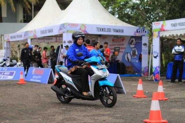 BYMS Cirebon Test Ride Yamaha Mio S
