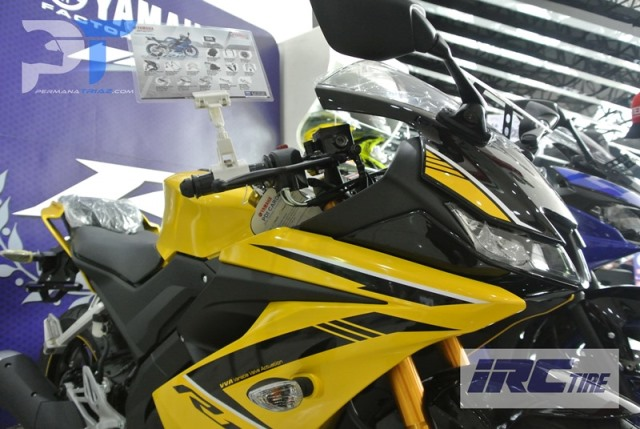 All New Yamaha R15 Warna Kuning