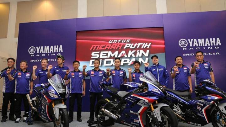 Keren, Launching Yamaha Racing Indonesia 2020 Dihadiri Pembalap MotoGP Yamaha!