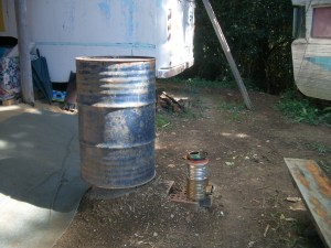 Rocket stove, still needs some work