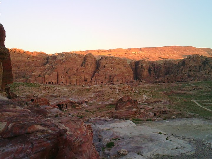 Tom Kendall visits the Petra valley in Jordan.