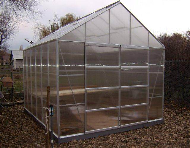 Two Harbor Freight Greenhouse
