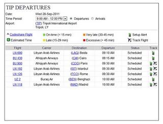 Aeroporti del mondo in tempo reale