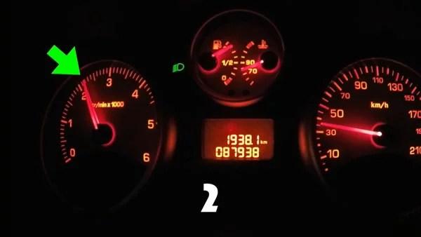 Quand changer de vitesse sur une voiture en boite manuelle ?