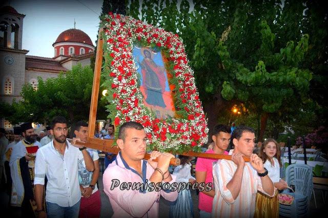 Γιορτάζει ο Άγιος Παντελεήμονας στο Καπαρέλλι-ΠΡΟΓΡΑΜΜΑ