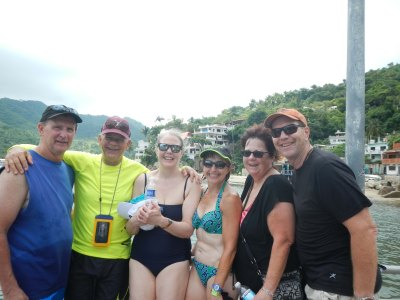 boat trip whole crew