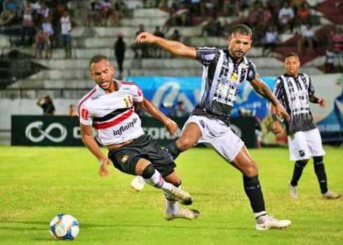 FUTEBOL: de virada Santa Cruz vence o ABC em placar final de 2x1 e avança no Brasileirão