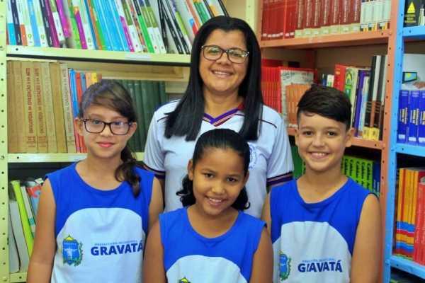 Escola de Gravatá seleciona estudante do 4º Ano que irá representá-la no Concurso Ler Bem 2019