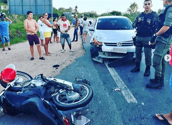 CARUARU: Garota envolvida em acidente segue internada em estado grave