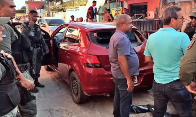 Suspeitos de assaltos são presos após trocarem tiros com a Polícia Militar em Olinda