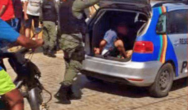 Polícia Militar apreende adolescente e recupera três celulares roubados