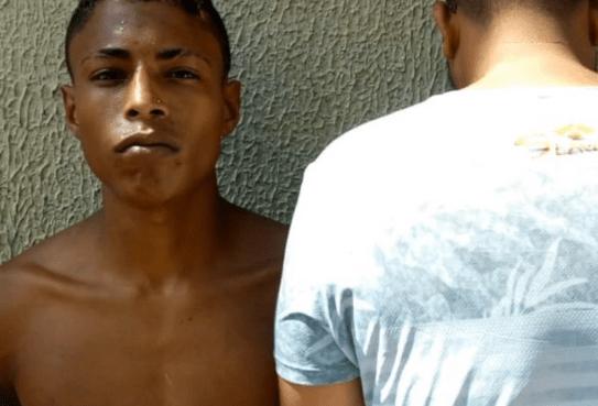 Rapaz preso após arrombar e roubar televisão da casa da vizinha em Olinda