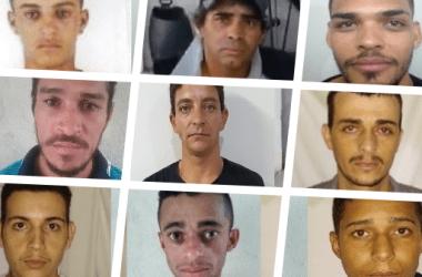 Nove criminosos fogem de cadeia pública após serem resgatados por dois homens