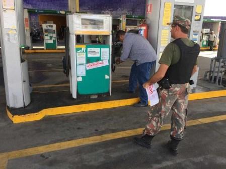 Posto de Gasolina é fechado e perde licença de funcionamento após combustível vazar no solo