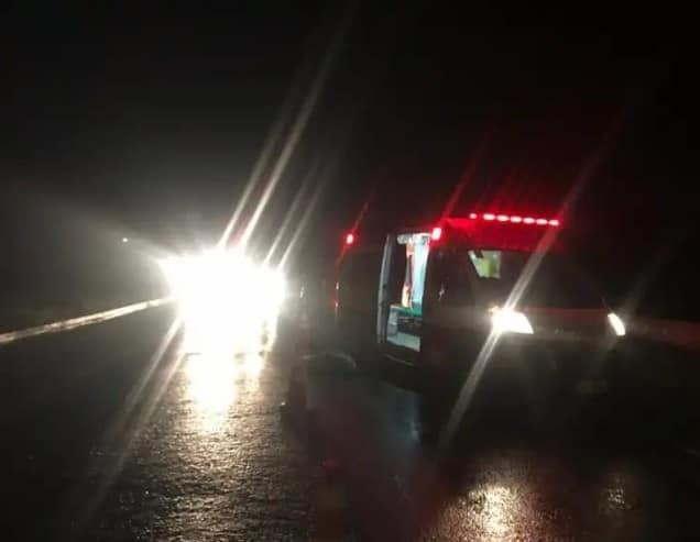 ACIDENTE: Homem atropelado na Rodovia BR-104 em Caruaru