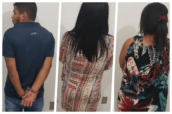 GARANHUNS: Duas mulheres e um homem são presos com drogas avaliadas em 150 mil reais