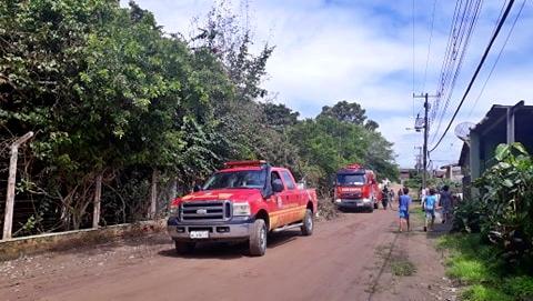 Gravatá: Corpo de Bombeiros é acionado para conter fogo no antigo COHATÁ Clube