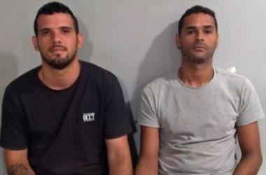 Dois homens são presos com mais de 330 pedras de crack em Escada