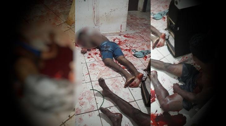 Pai e filho são executados a tiros dentro de casa em Catende; um rapaz sobreviveu