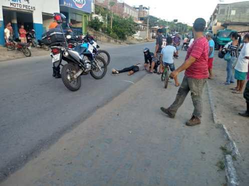 Acidente com vítima é registrado na Rodovia PE-71 em Chã Grande