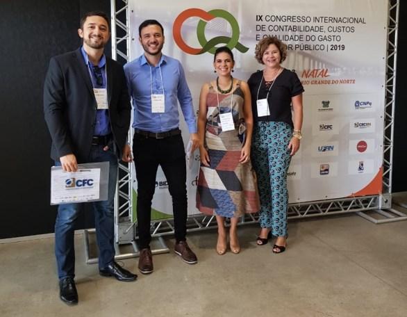 Servidores da SCGE participam de evento internacional no RN