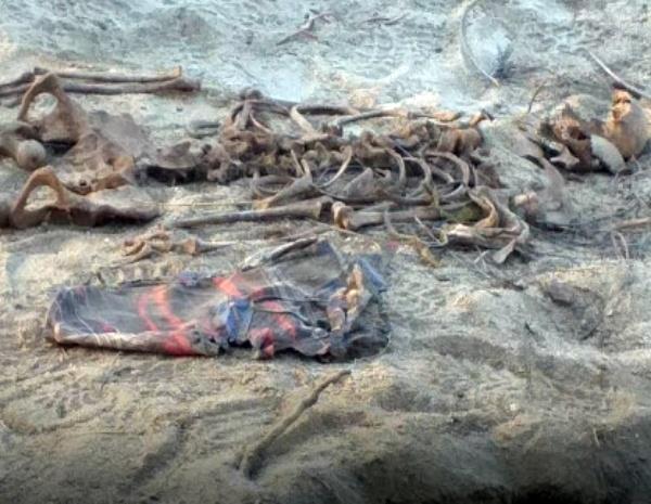 Ossada humana encontrada próximo de presídio de Santa Cruz do Capibaribe