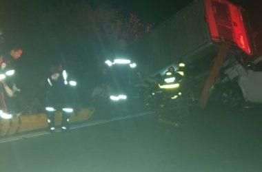 Acidente deixa um morto e 11 feridos na BR-232, em Tacaimbó