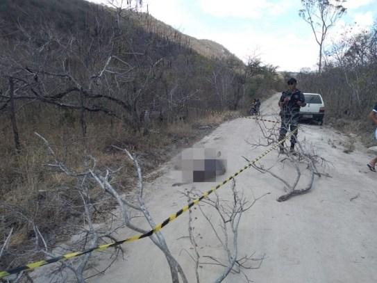 Homem encontrado morto na zona rural de Jataúba