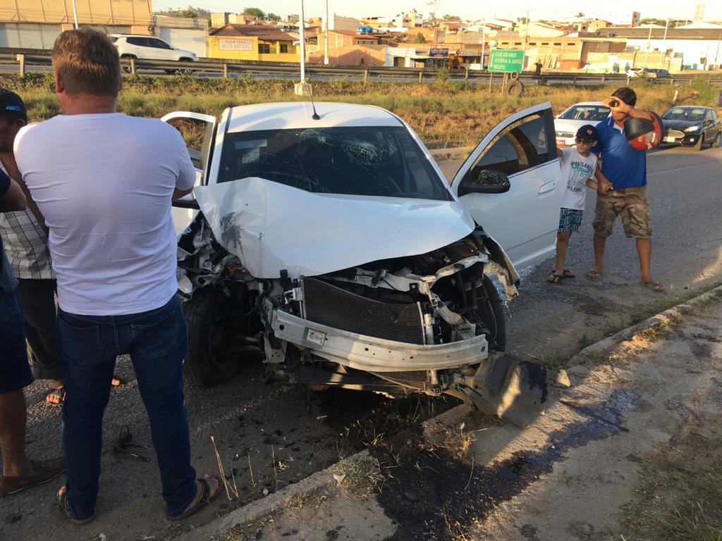 Gravatá: acidente grave registrado na via local na BR-232