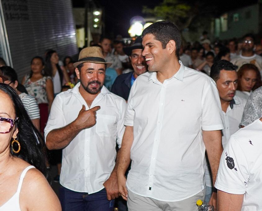 Pedro Monteiro participa de Festa de Nossa Senhora dos Impossíveis em Pombos