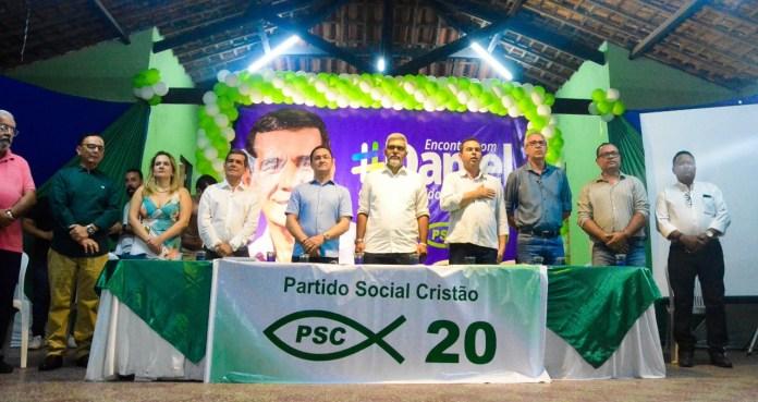 Gravatá: Daniel Alves oficializa pré-candidatura com ato de filiação ao PSC