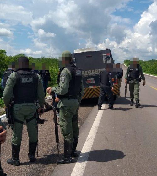 Sertão: Criminoso morre durante tentativa assalto a carro forte