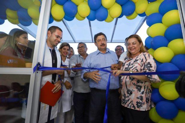 Joaquim Neto entrega novo prédio da Unidade de Saúde do bairro da Boa Vista