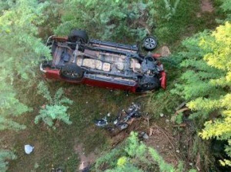 Motorista fica ferido após carro cair de ponte em Riacho das Almas e agricultor morre atropelado em Águas Belas