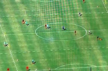 Jogadores do Flamengo são flagrados treinando sem autorização da prefeitura