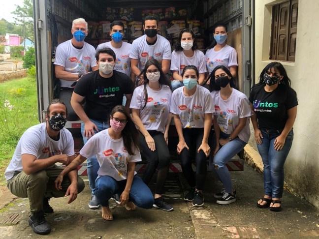 Famílias de Água Preta recebem doações da Campanha Todos Juntos