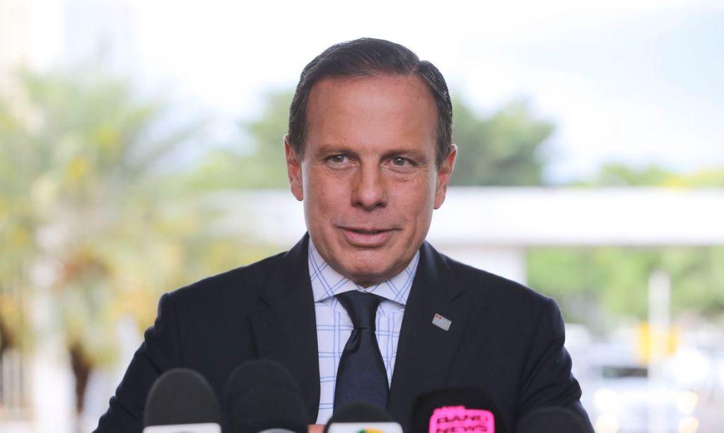 Dória promete que vacina contra coronavírus será produzida por São Paulo em até 1 ano
