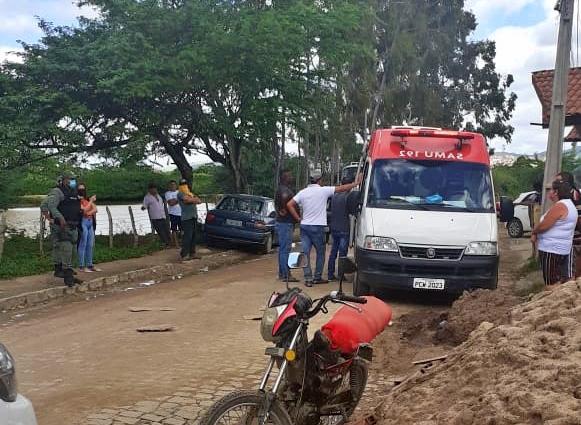 Gravatá: comerciante se envolve em acidente no bairro do Salgadão