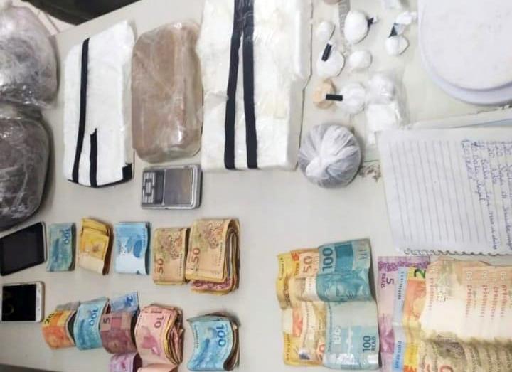 Três suspeitos são presos por tráfico de drogas em Santa Cruz do Capibaribe