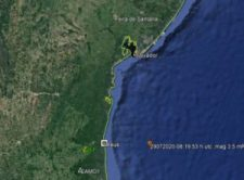 Tremor de terra de magnitude 3,5 graus na escala Richter é registrado na Bahia